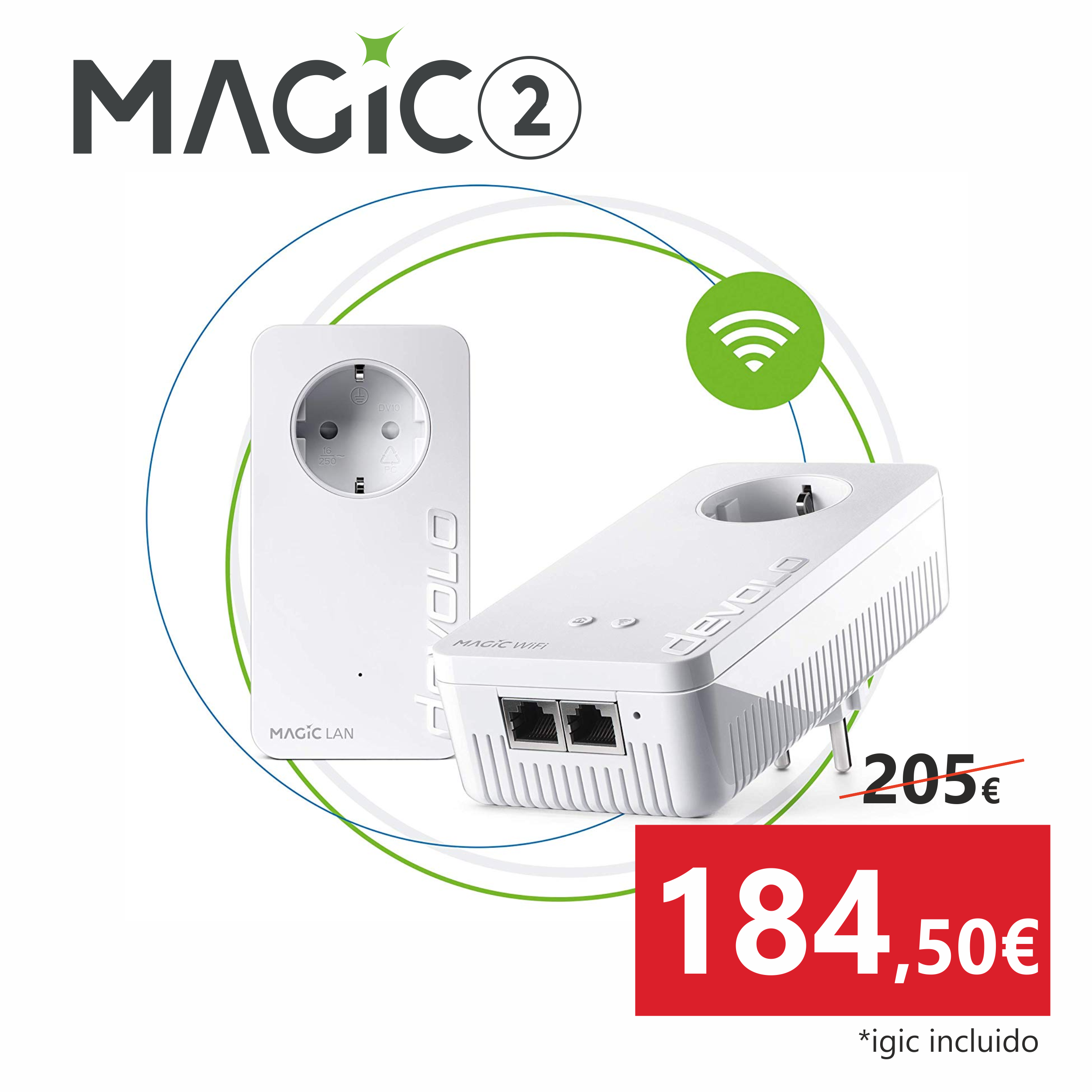 Adaptador Devolo Magic 2 Wifi