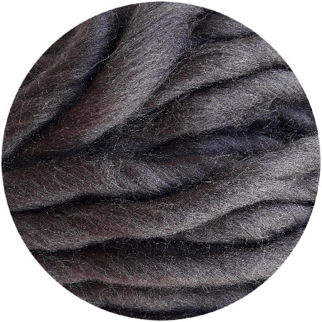 Lana merino cool wool chocolate