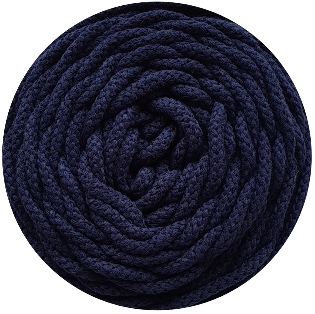 Cotton 5 mm air azul marino