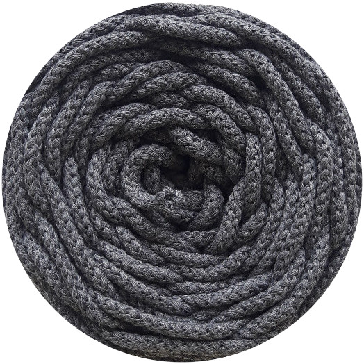 Cotton air gris plomo 5 mm