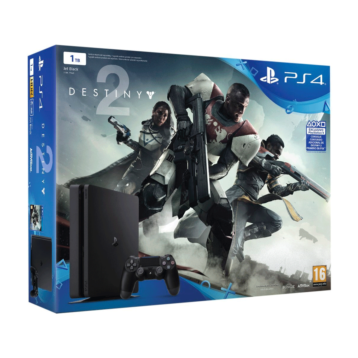 Videoconsola Sony Play Station 4 Slim 1 TB + Juego