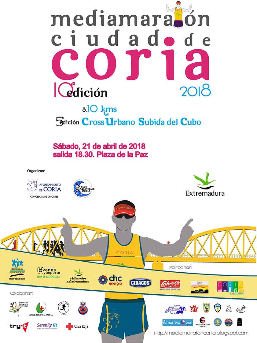 maraton, coria, cross, running