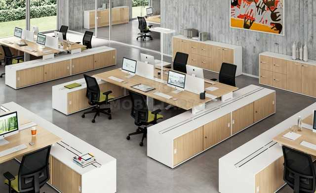 SIO Mobiliario Oficina Madrid - Mesa de oficina IDEA SYSTEM
