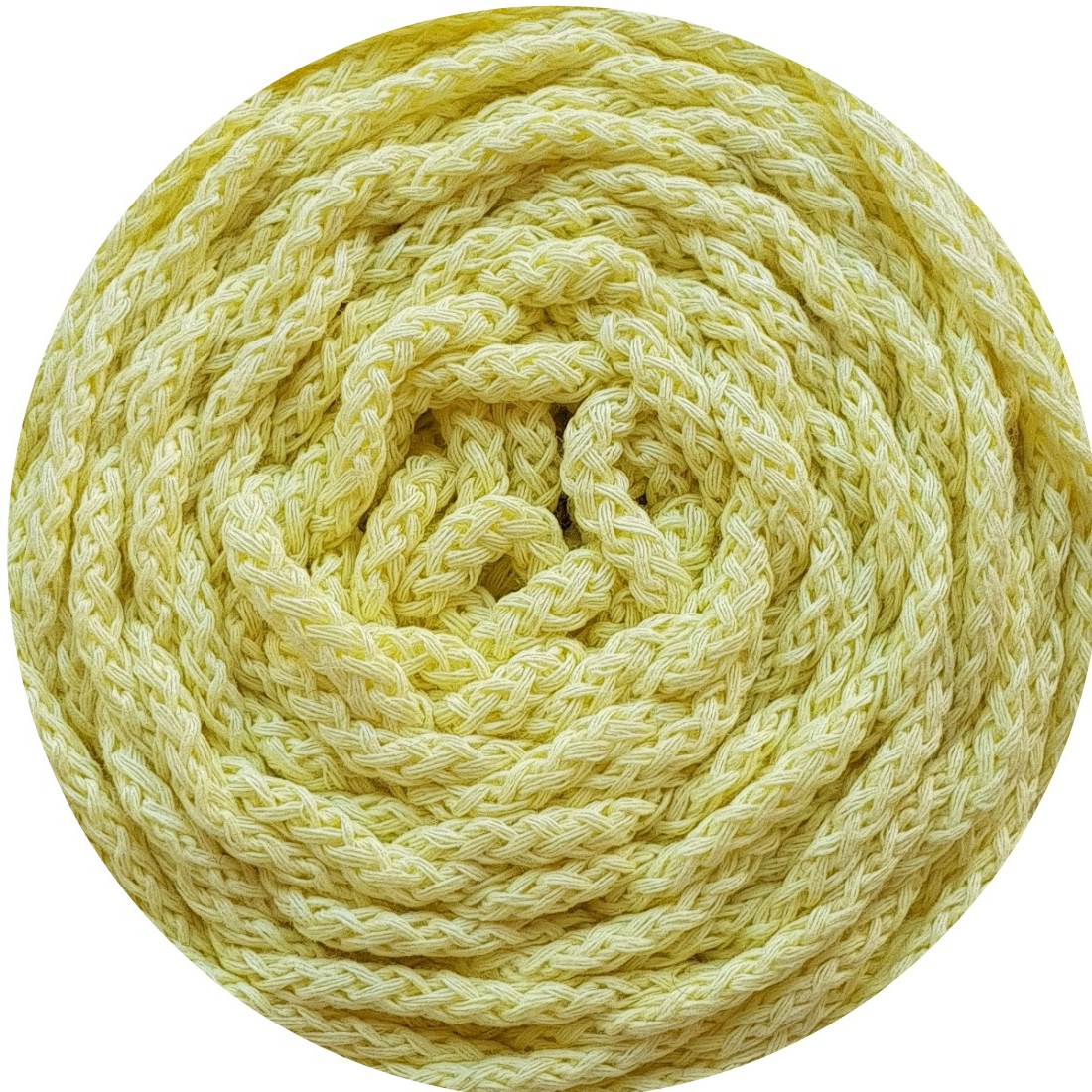 Cotton Air 5 mm amarillo palido