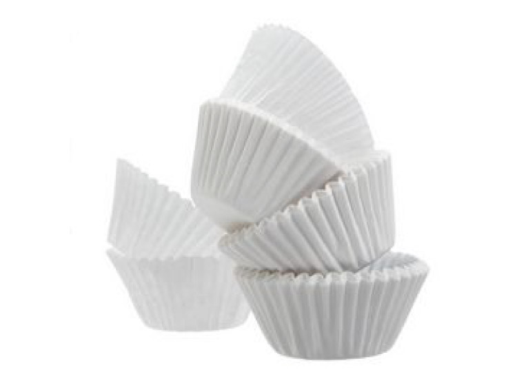 White Cake Cups