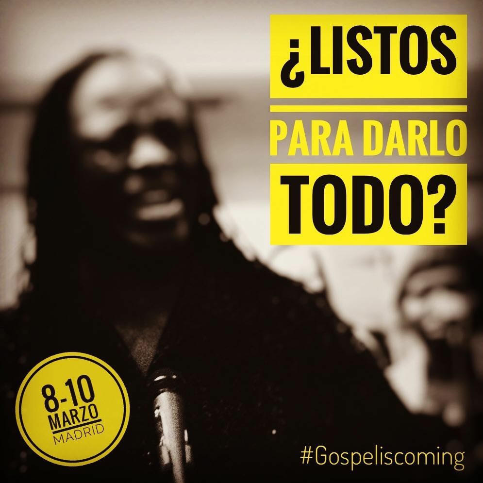 ¡¡ TALLER GOSPEL EN MADRID !!