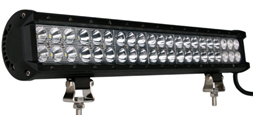 """Faro barra LED - doble fila, 126W 20"""", combo"""