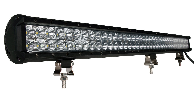 """Faro barra LED - doble fila, 234W 36"""", combo"""