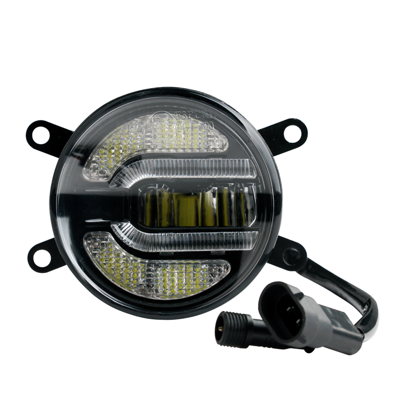 "Faros antiniebla LED + luz diurna 3,5"" 90mm 9-32V"