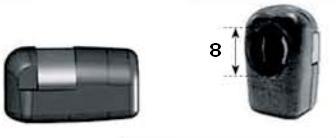 Rótula varilla Ø 8 mm