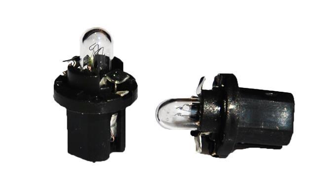 1 Bombilla halógena BX 8,5D 1,2W BLACK CLEAR 12V
