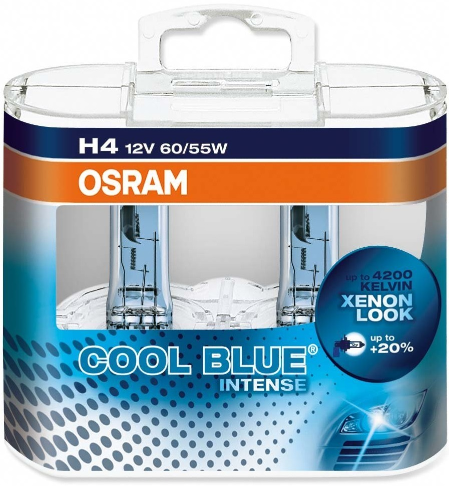 Osram 64193CBI-DUO [COOL BLUE® Intense] H4 12V 60/