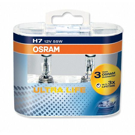 Osram 64210ULT-DUO [ULTRA LIFE®] H7 12V 55W (PX26d