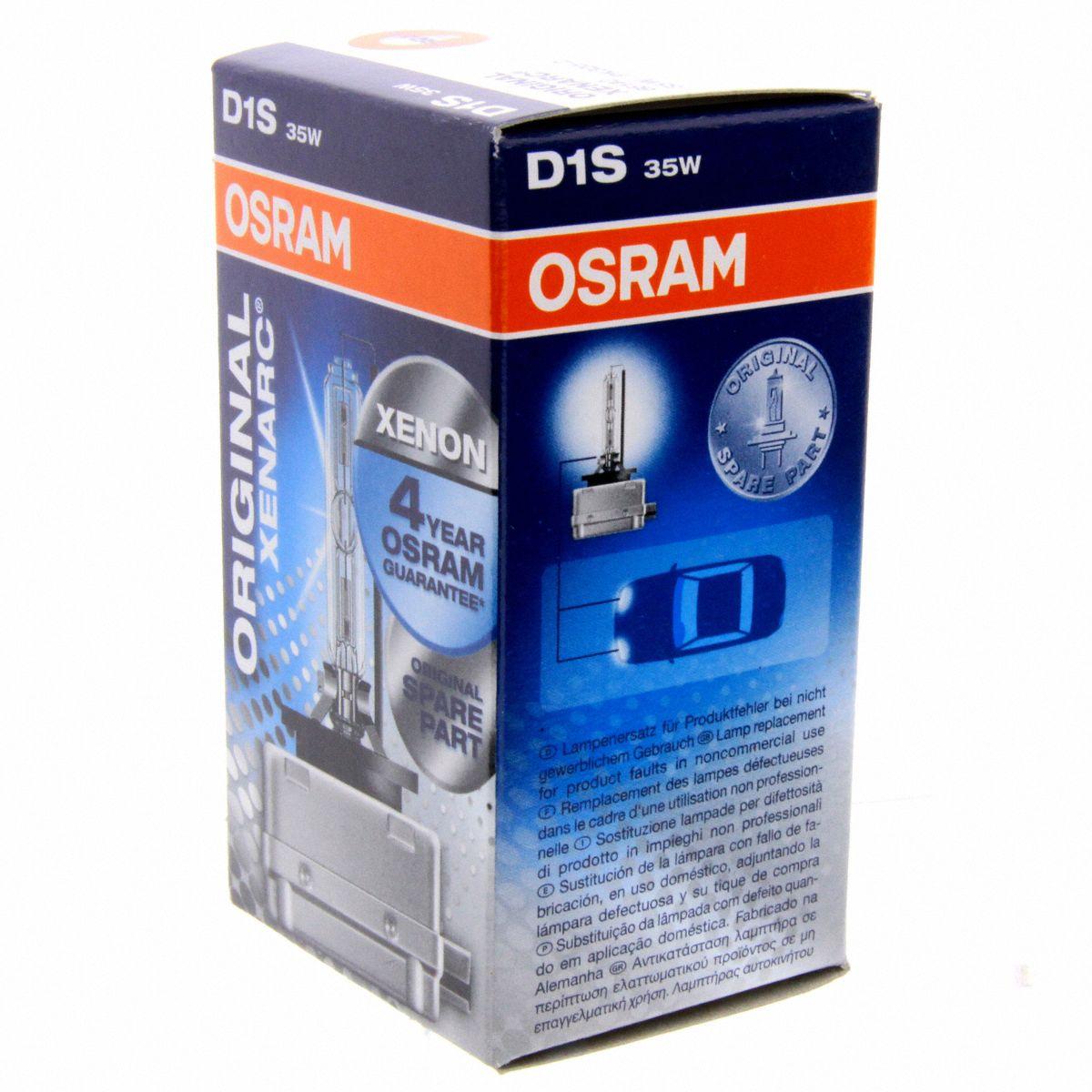Osram 66140 [XENARC® ORIGINAL] D1S  35W (PK32d-2)