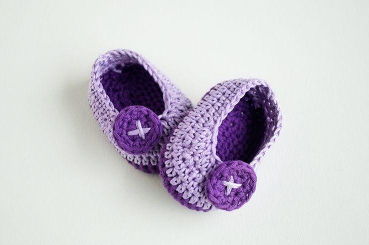 Ganchillo Zapatos Nannymon