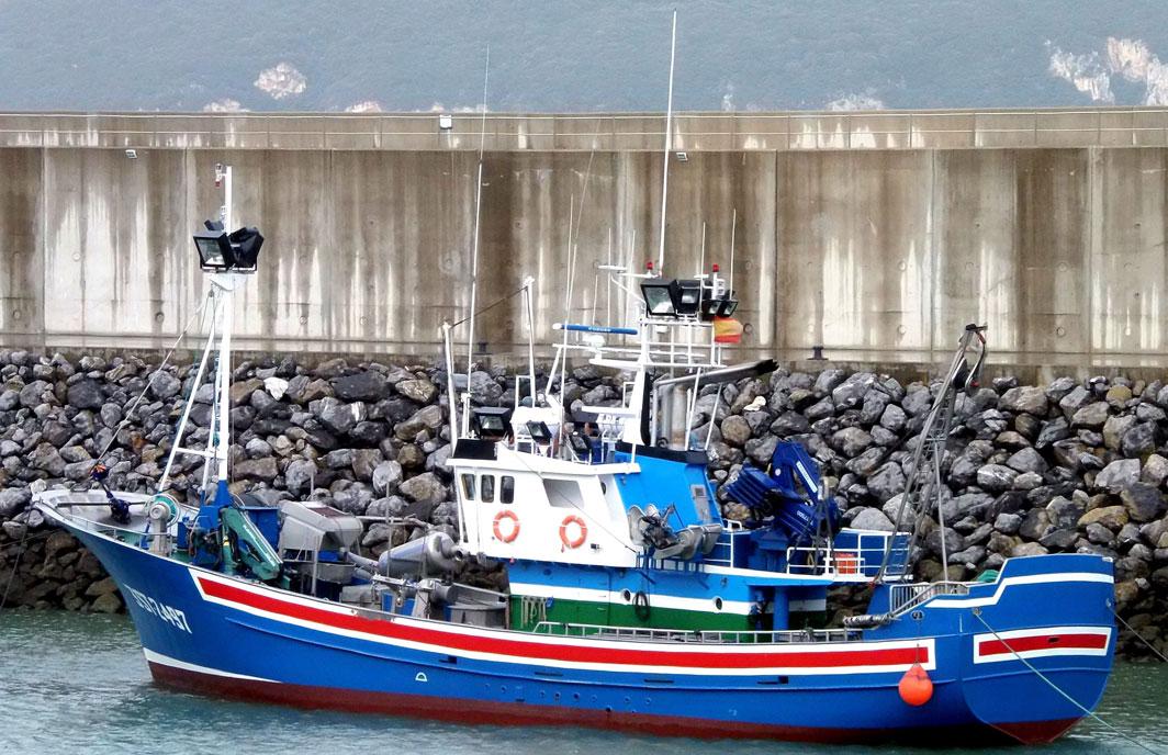 Resultado de imagen de imagen de barco de pesca nombre madre norte