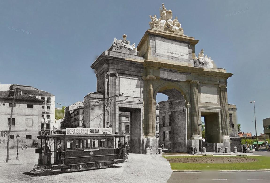 Madrid ayer y hoy for Puerta del sol hoy