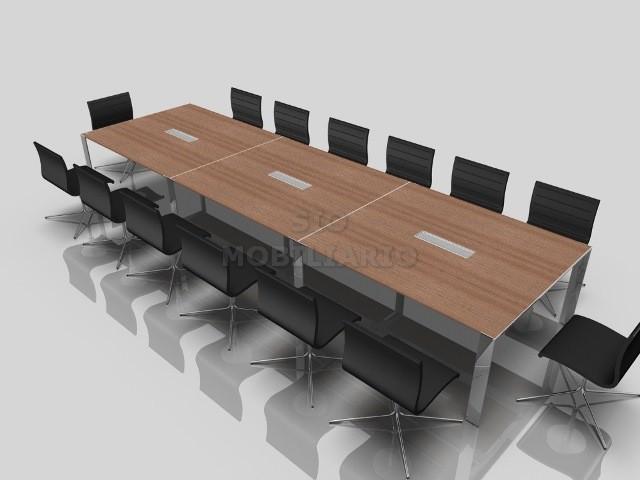 Sio mobiliario oficina madrid mesas de reuniones for Mesa de reuniones