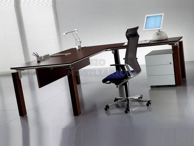 Sio mobiliario oficina madrid mesas despacho - Mesas de despacho de cristal ...