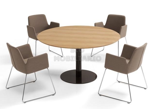 Sio mobiliario oficina madrid mesa reuni n flat for Mesa de reuniones