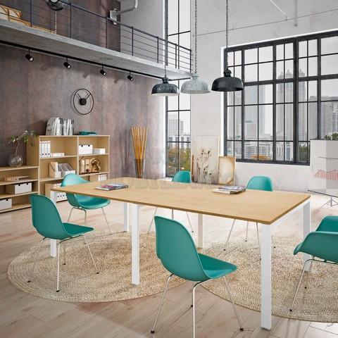 Sio mobiliario oficina madrid mesas de reuniones for Mobiliario oficina madrid