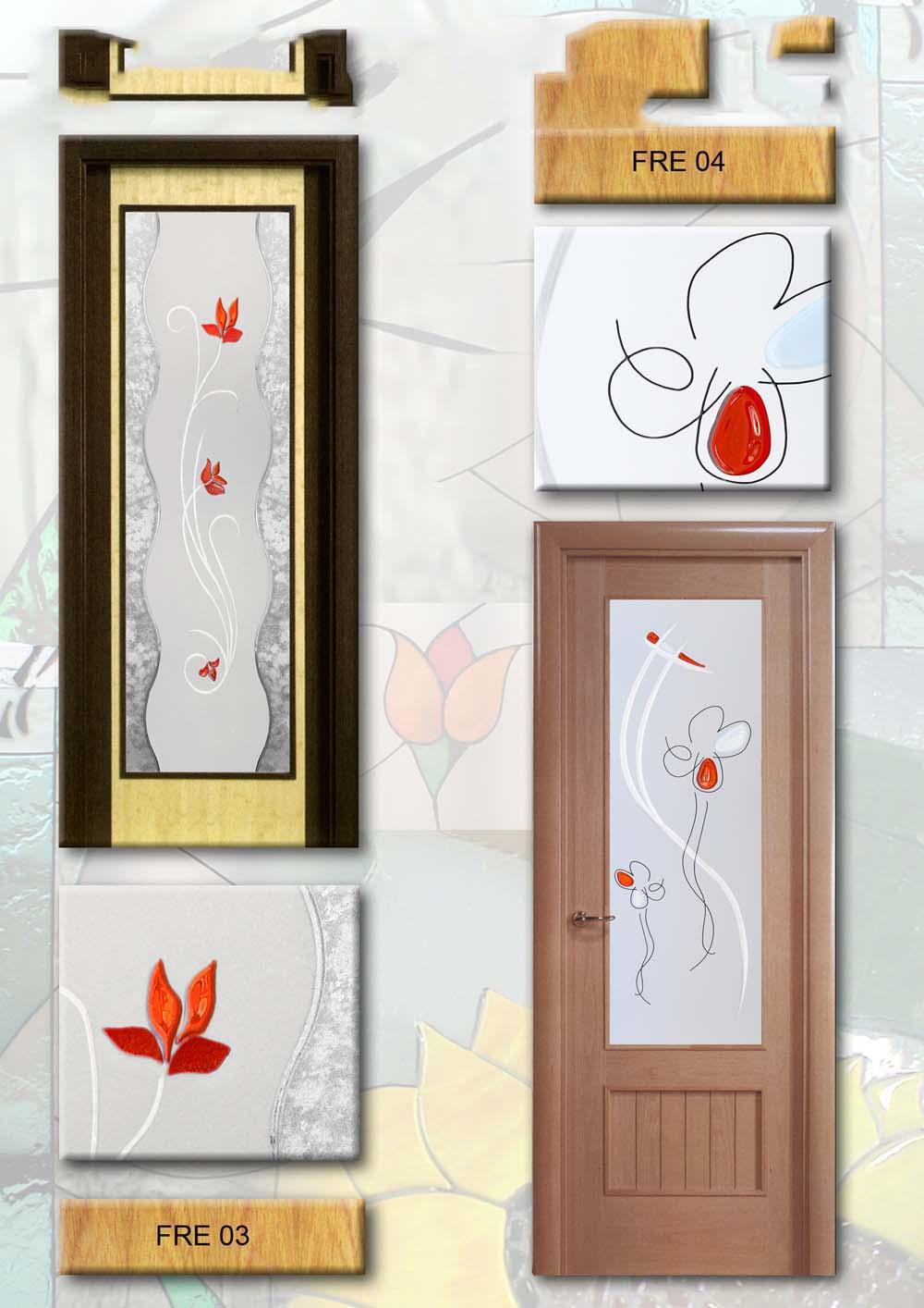 Cristales puerta interior for Cristales puertas interior