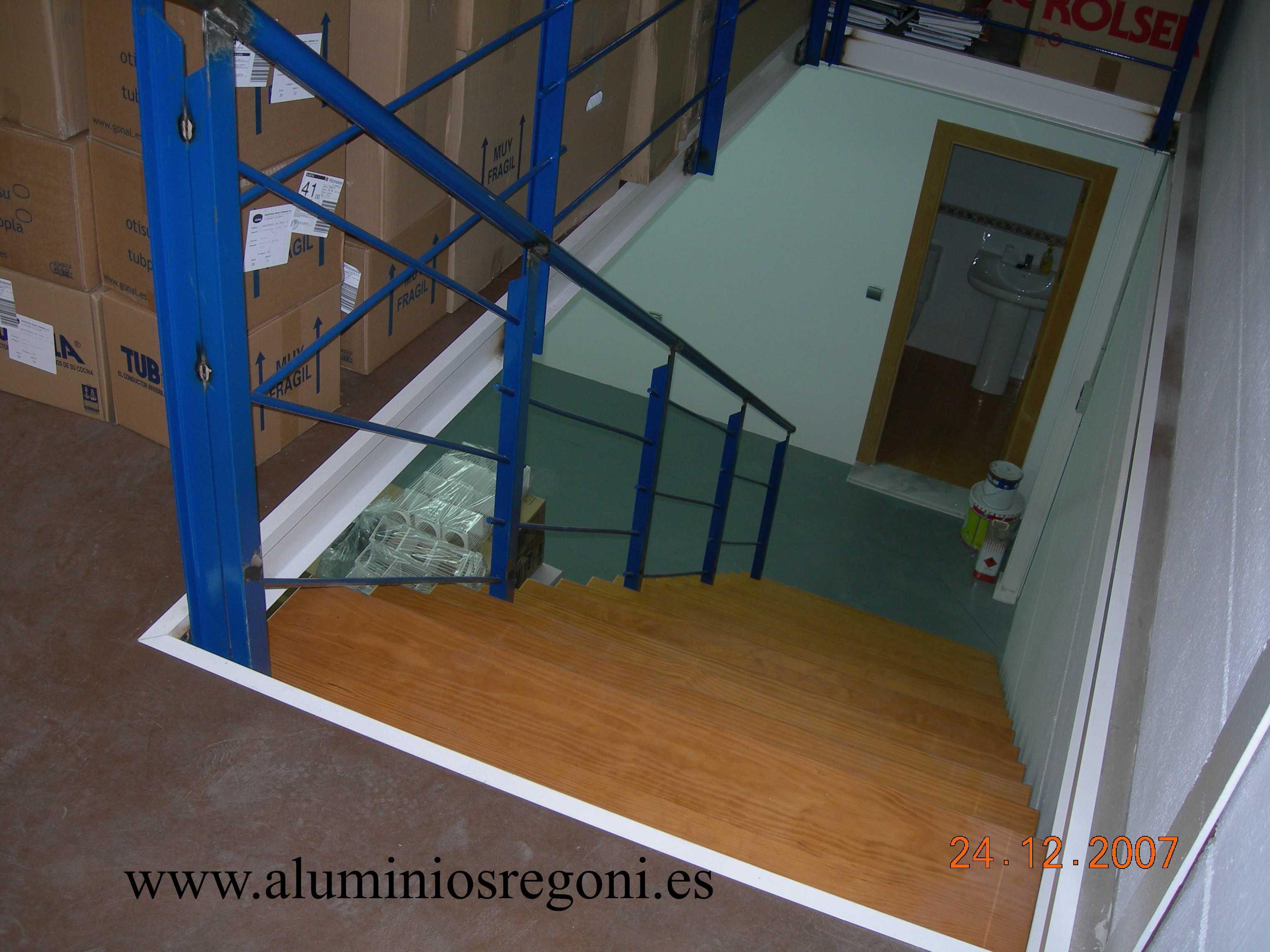 Barandas de hierro para escaleras affordable barandas de - Barandas de escaleras ...