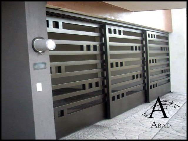 Puertas de hierro para exteriores puertas en hierro Puertas metalicas usadas