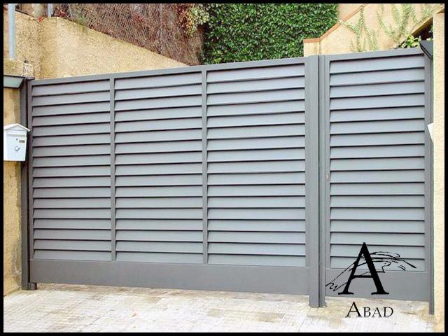 puertas metalicas exterior puertas de exterior with