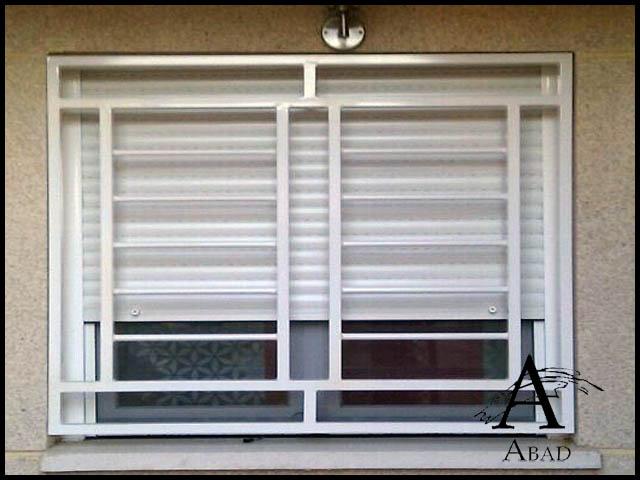 Rejas correderas para ventanas diseo de ventanas rejas for Seguridad ventanas correderas