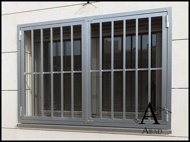 Rejas de seguridad para ventanas y puertas en madrid abad - Rejas de seguridad para puertas ...