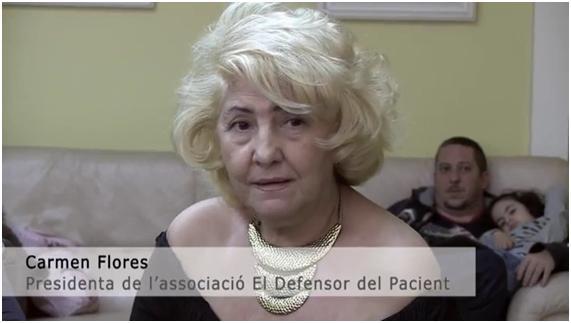 Resultado de imagen de entrevistas carmen flores defensor del paciente