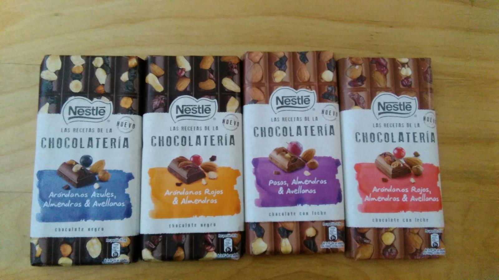 Prueba de Las Recetas de la Chocolatería de Nestlé