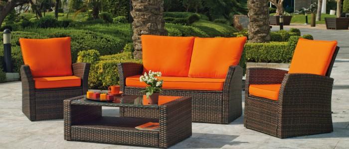 Muebles para terraza muebles para terraza o jardn de el for Muebles para terraza al aire libre