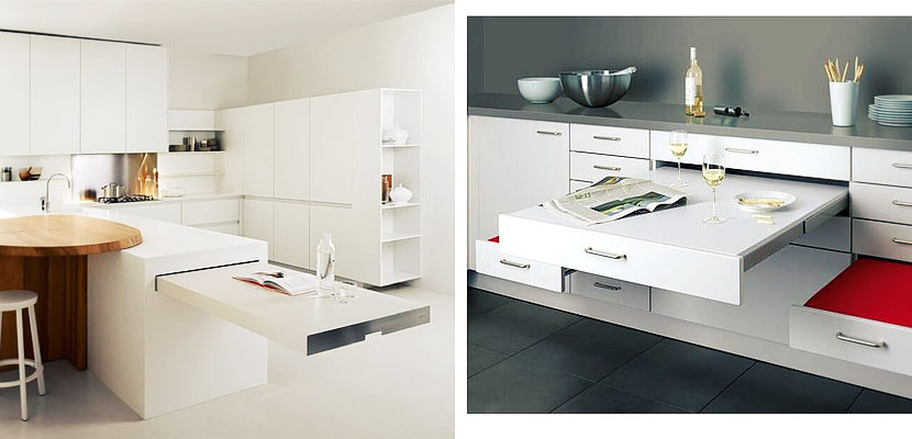Mesas de cocina plegables free mesa auxiliar plegable - Cocinas en carrefour ...