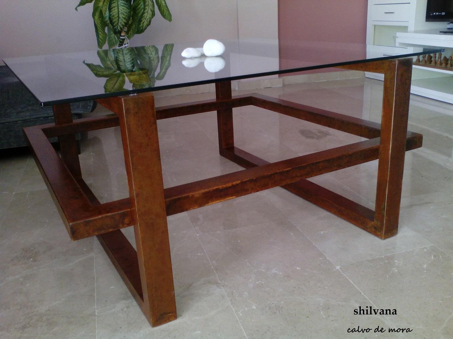 Mesas rusticas de centro mesas de centro de salon mesa - Mesas de centro rusticas ...