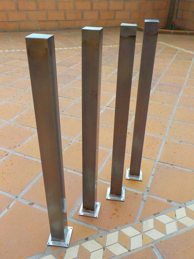 Patas de hierro para mesas - Patas para mesas ...