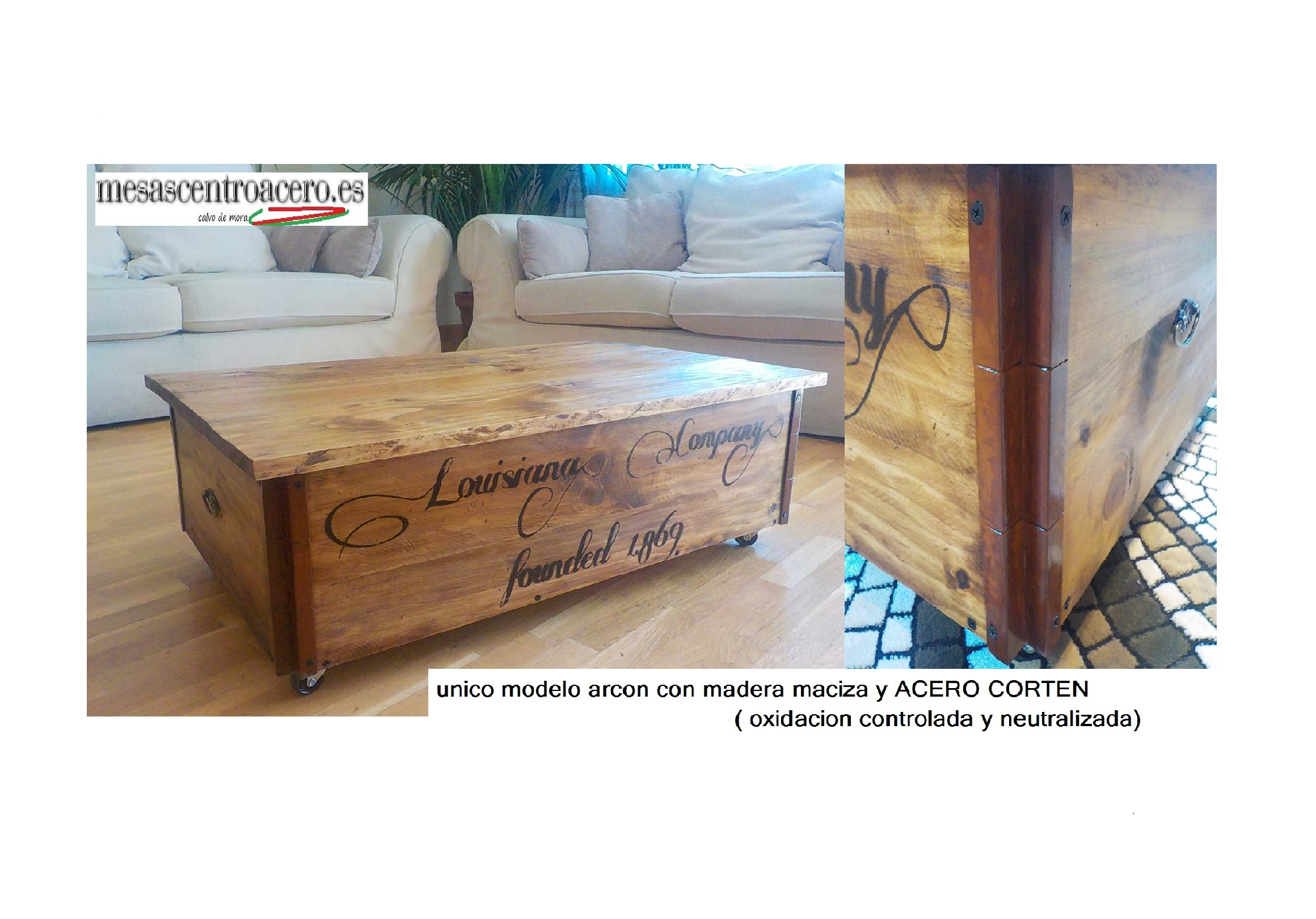 Mesas rusticas de madera maciza mesa maciza rstica for Modelos de mesas rusticas de madera
