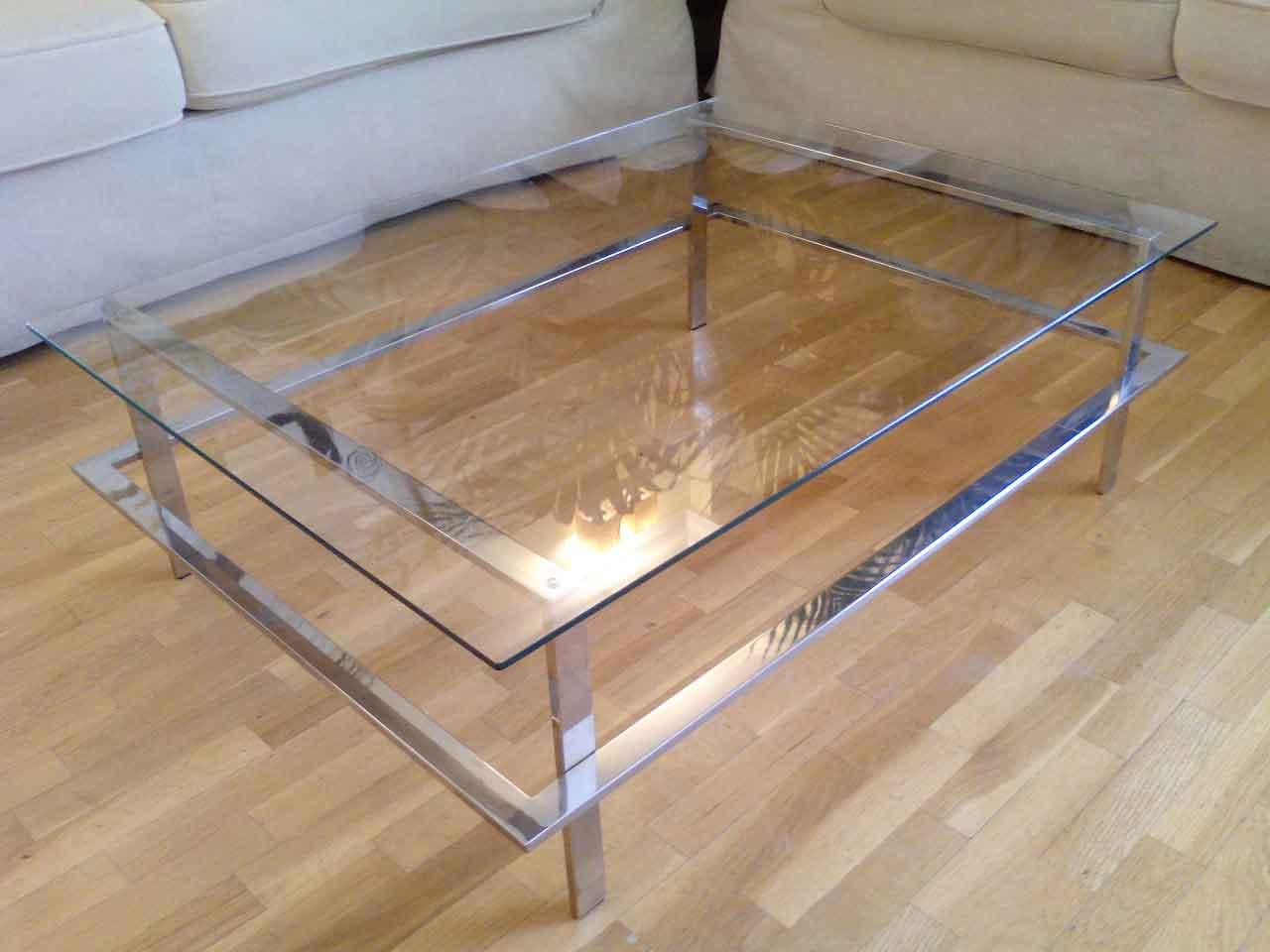 Limpieza de mesas en acero inoxidable - U acero inoxidable ...