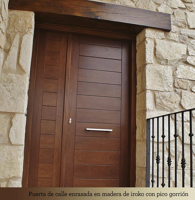 Puymagar s l for Disenos puertas de madera exterior