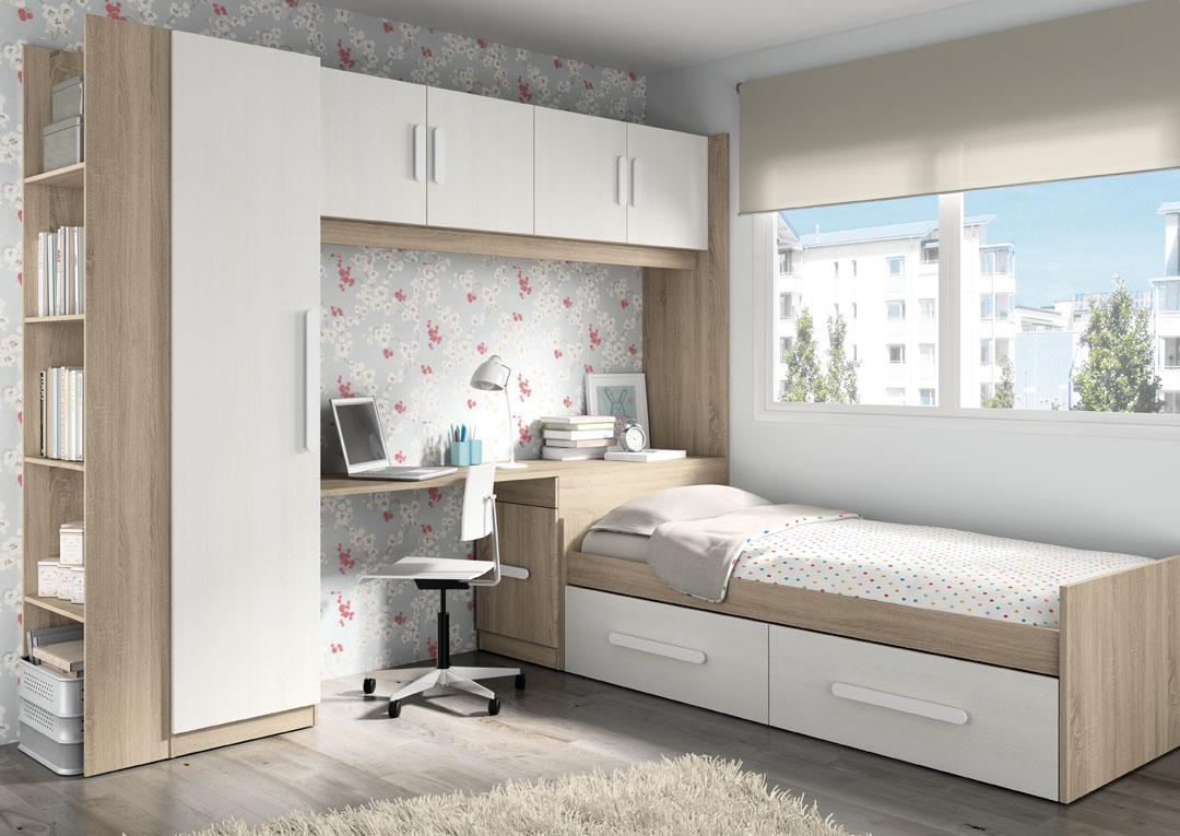 Dormitorio juvenil for Armario conforama dormitorio