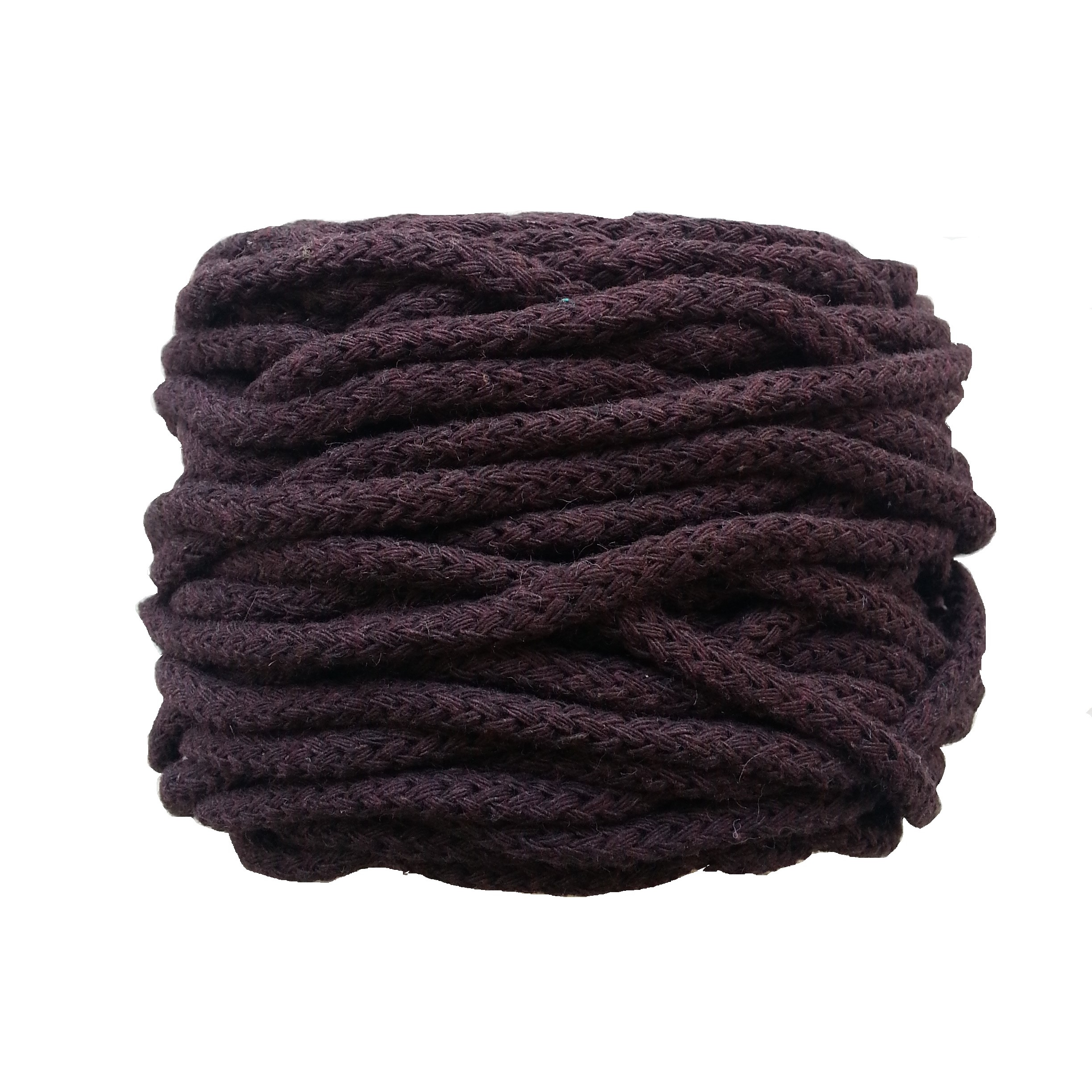 Cotton Air 5 mm Marron Chocolate