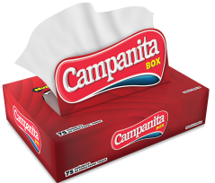 Pañuelos Descartables Campanita Box