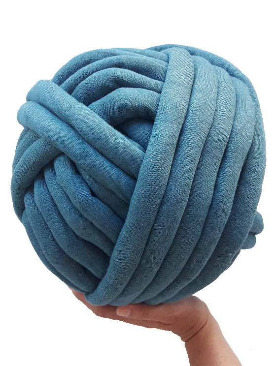 BIG COTTON AZUL VERDOSO