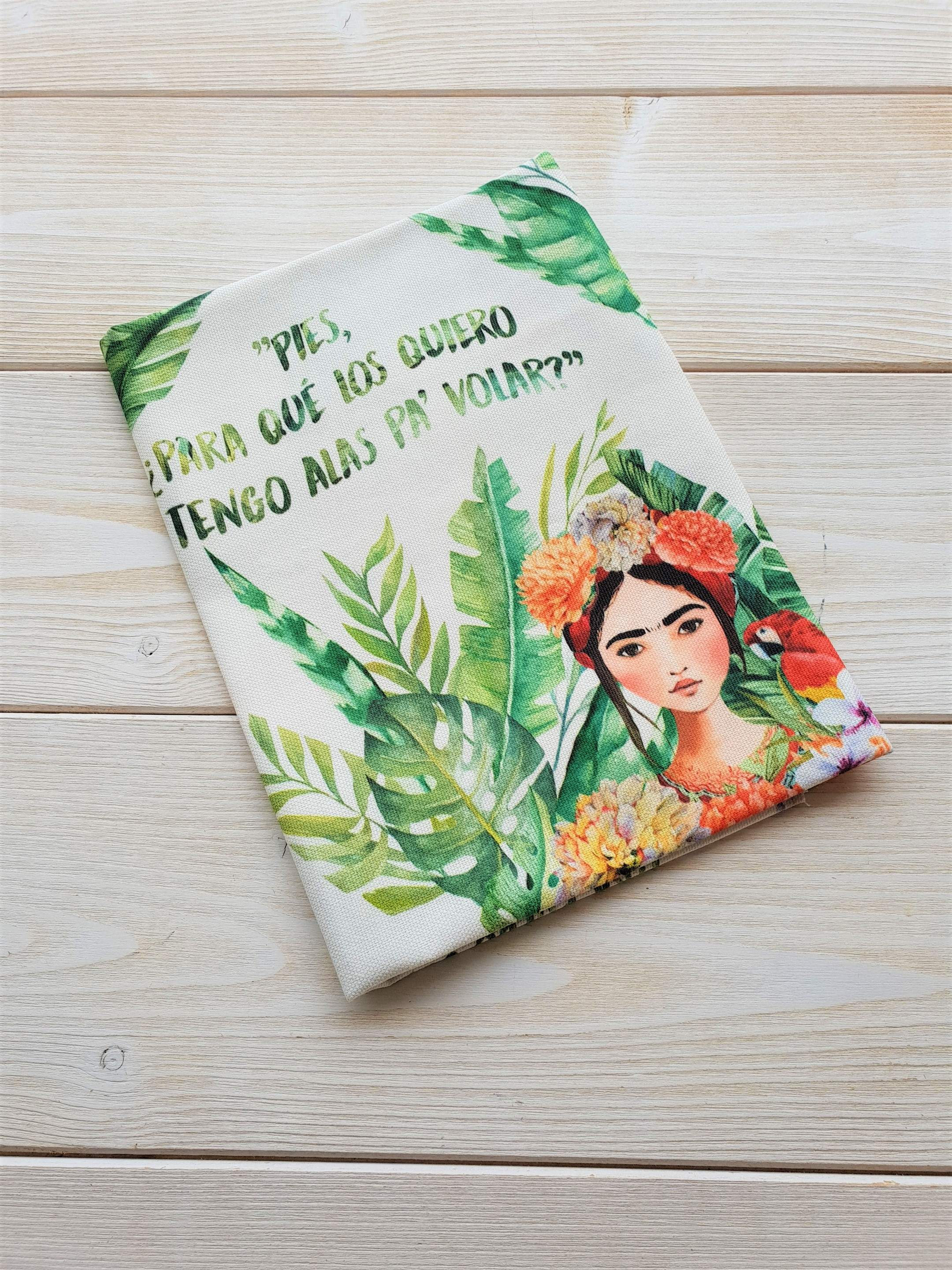 TELA DE FRIDA TROPICAL