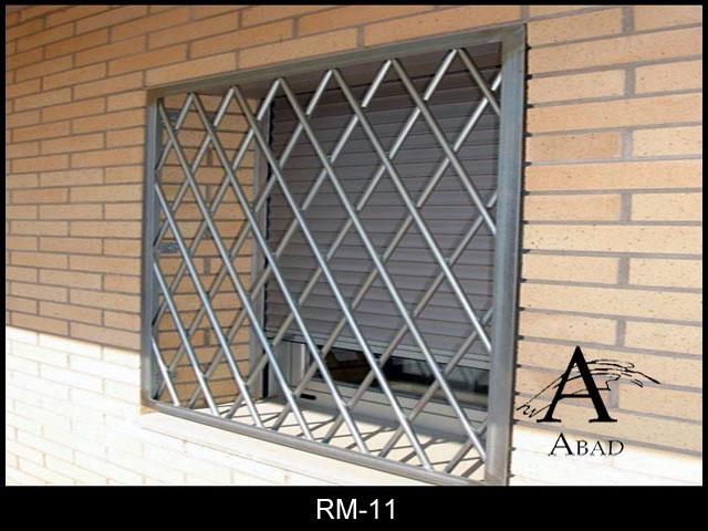 reja para ventana de hierro - Rejas Modernas