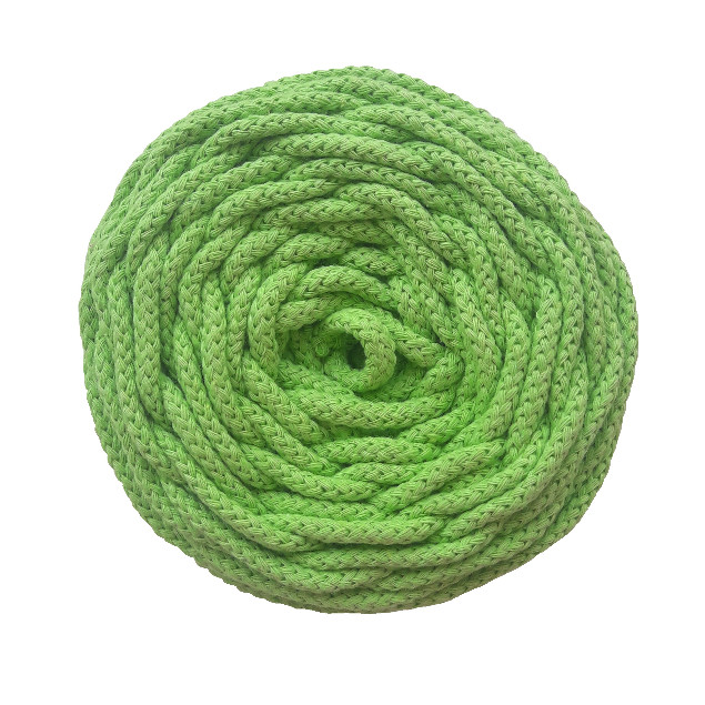 Cotton air 5 mm verde mint