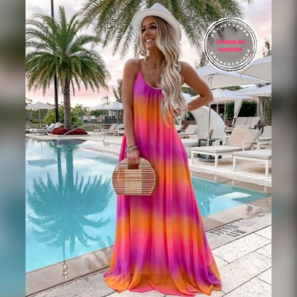 Vestido hippie power