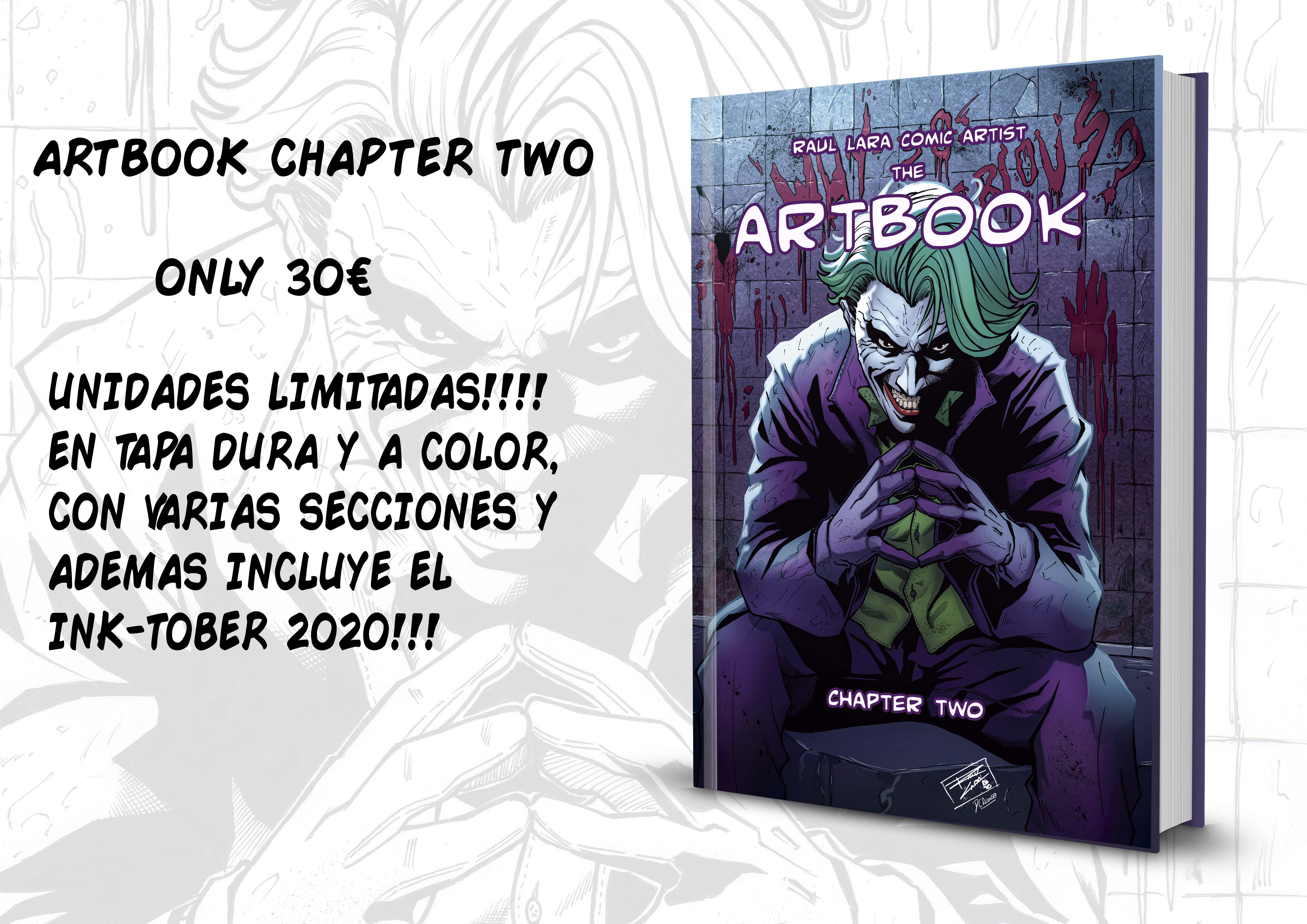 ARTBOOK CHAPTER TWO LIMITED EDITION