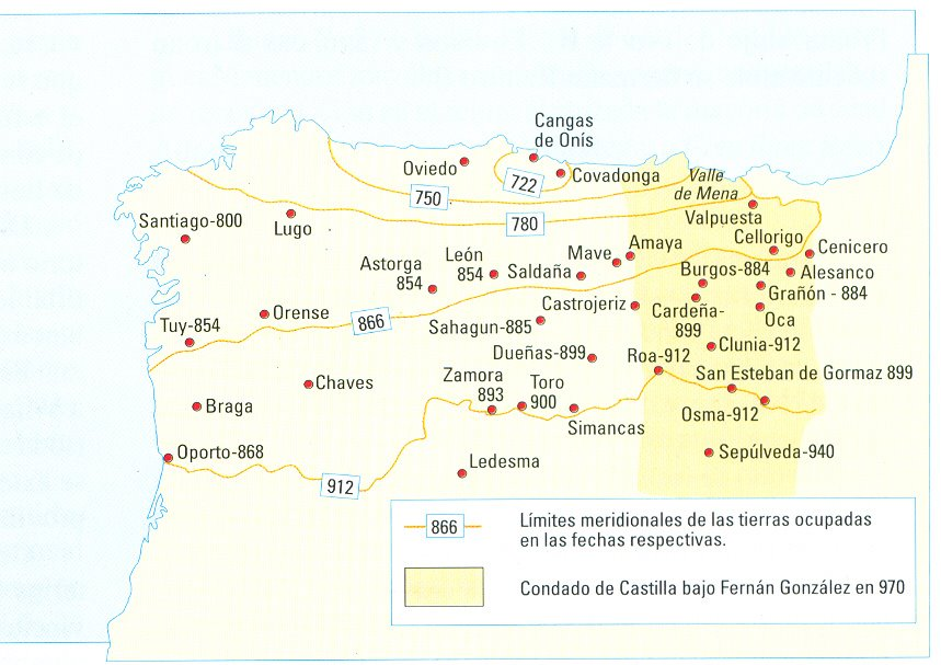 Mapa Len siglo IXjpg
